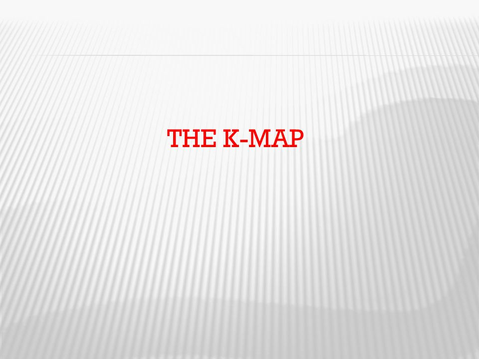 THE K-MAP