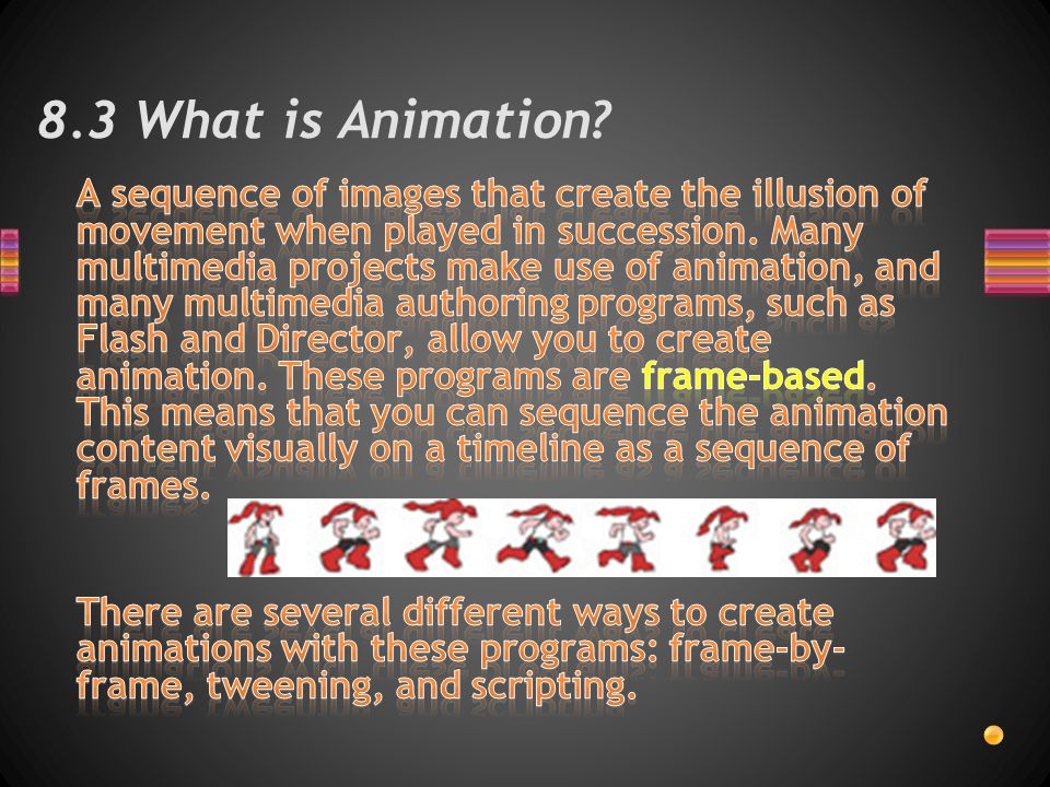 8.3 What is Animation
