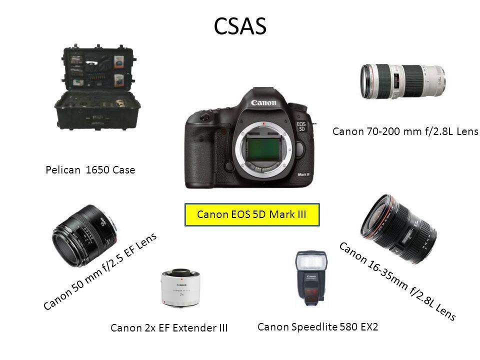 CSAS Canon 70-200 mm f/2.8L Lens Pelican 1650 Case