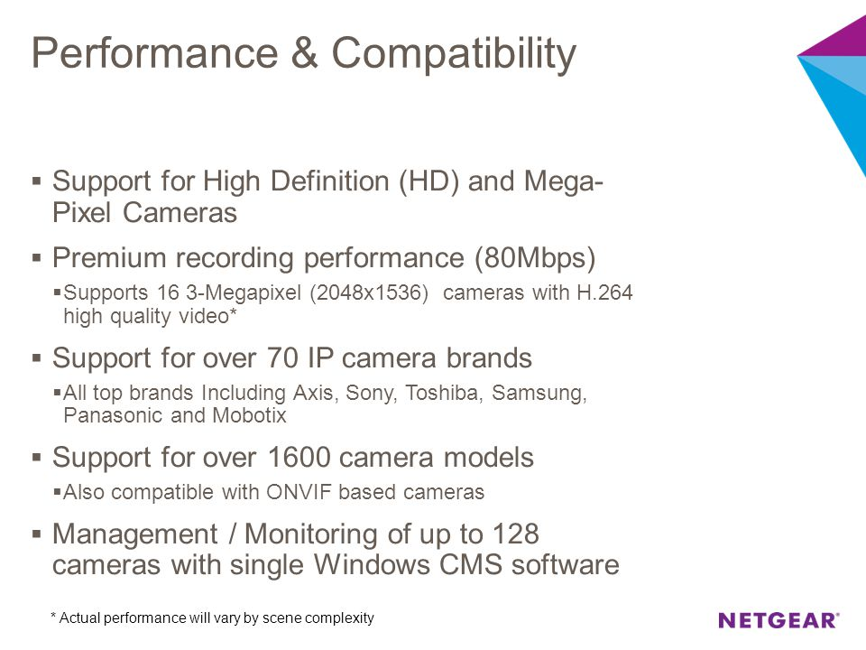 Performance & Compatibility