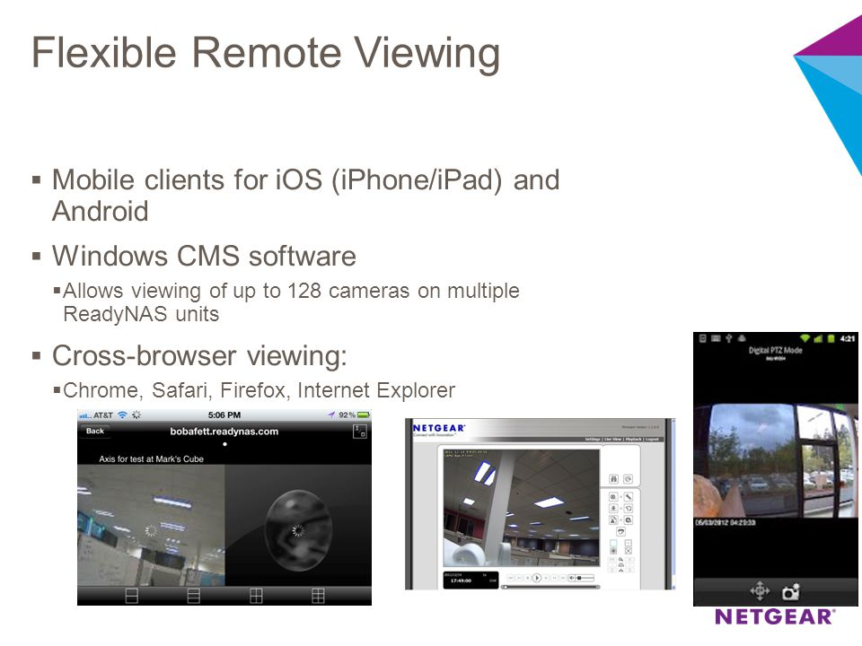 Flexible Remote Viewing