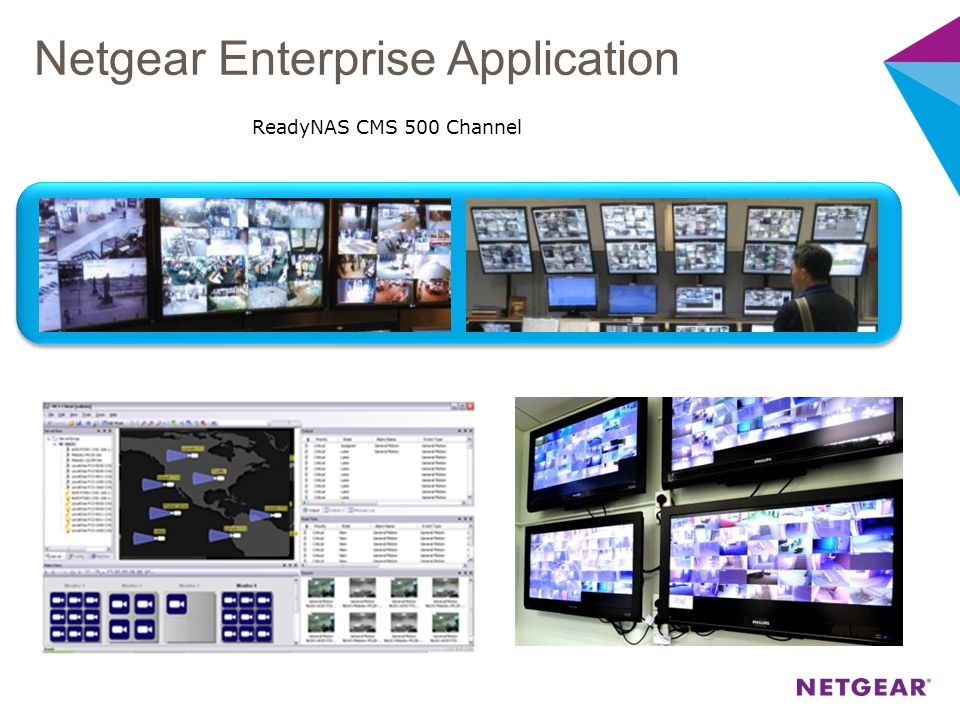 Netgear Enterprise Application