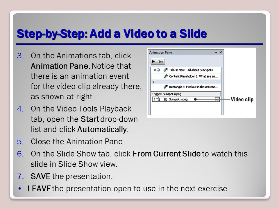 Step-by-Step: Add a Video to a Slide