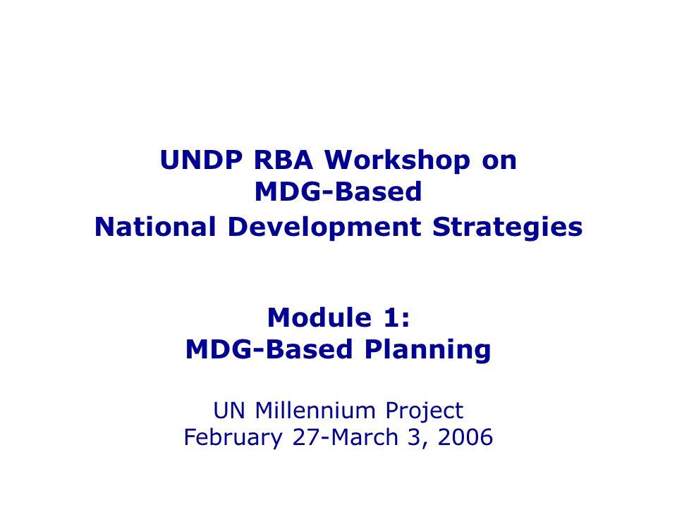 National Development Strategies