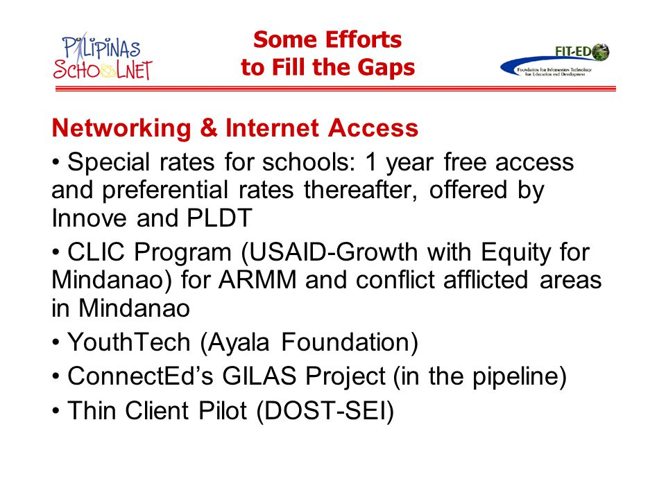 Networking & Internet Access