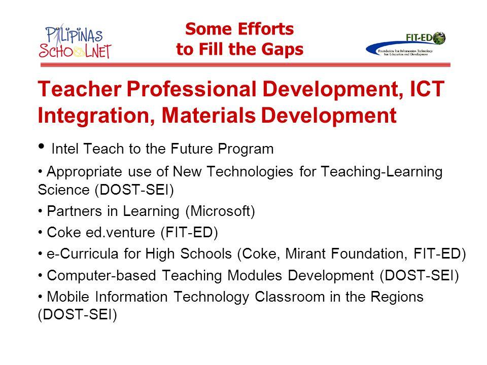 Intel Teach to the Future Program
