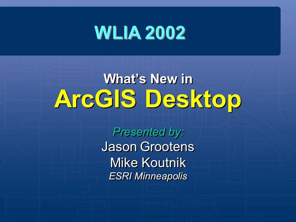 What's New in ArcGIS Desktop