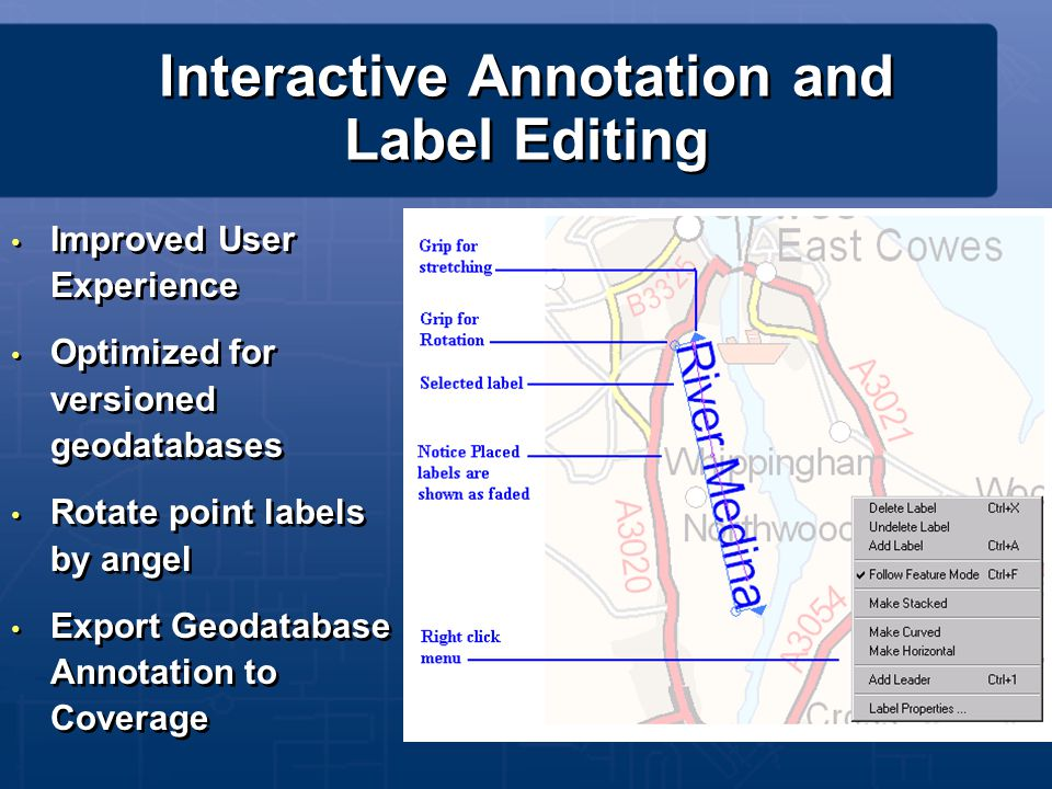 Interactive Annotation and Label Editing