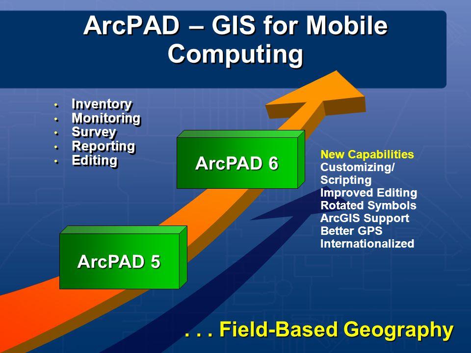 ArcPAD – GIS for Mobile Computing
