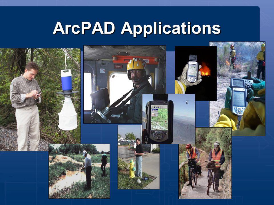ArcPAD Applications