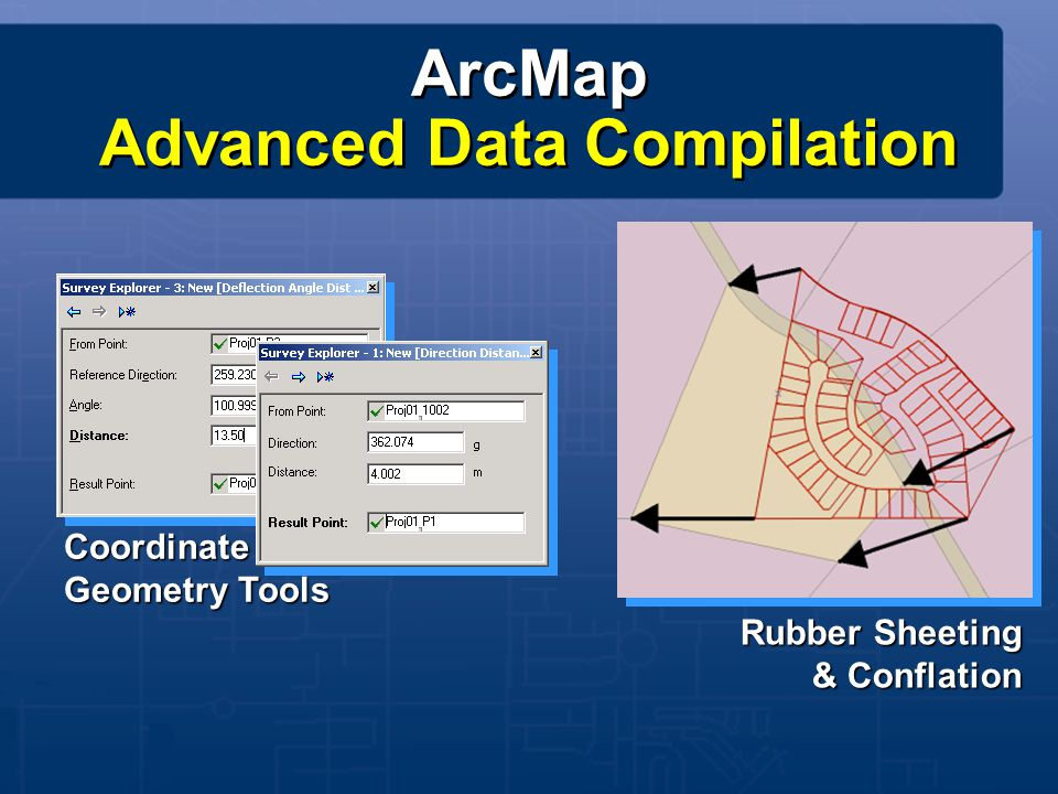 ArcMap Advanced Data Compilation