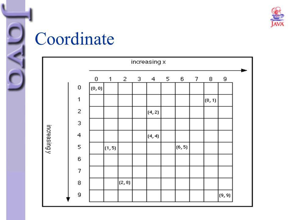 Coordinate Coordinate