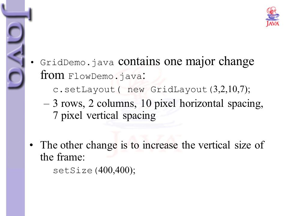 The other change is to increase the vertical size of the frame: