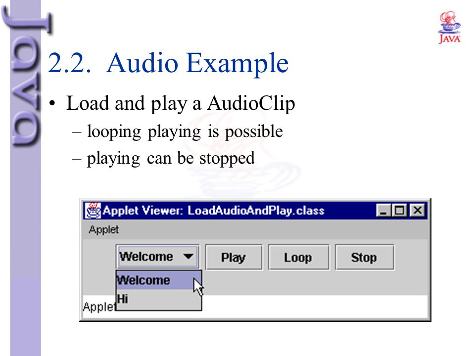 2.2. Audio Example Load and play a AudioClip
