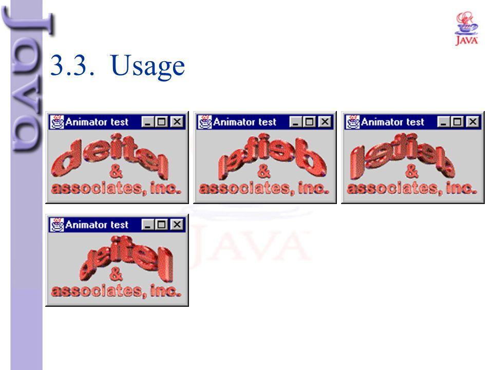 3.3. Usage