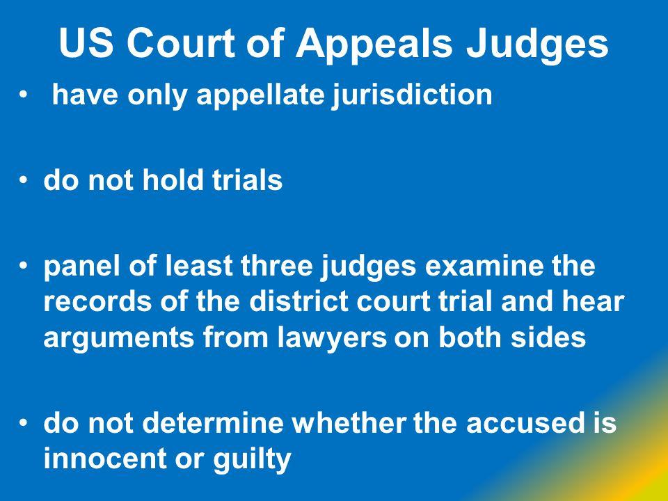 US Court of Appeals Judges