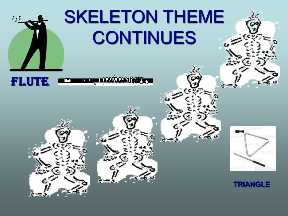 SKELETON THEME CONTINUES