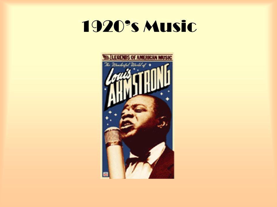1920's Music