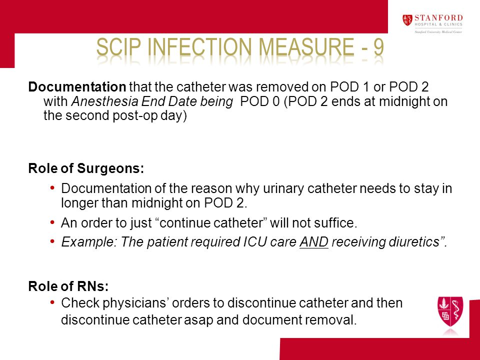 SCIP Infection Measure - 9