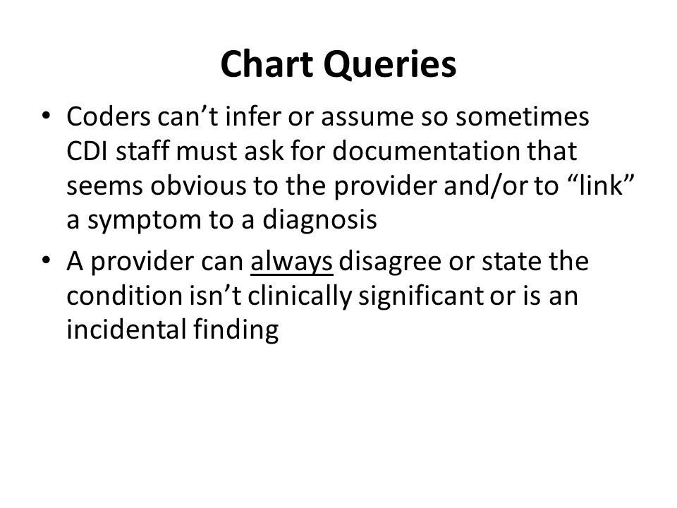 Chart Queries
