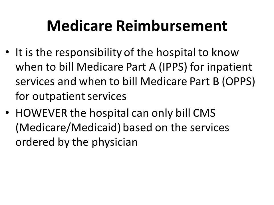 Medicare Reimbursement