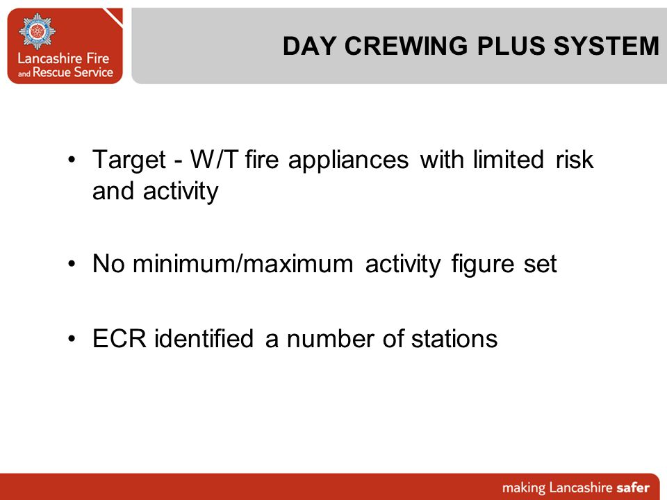 DAY CREWING PLUS SYSTEM