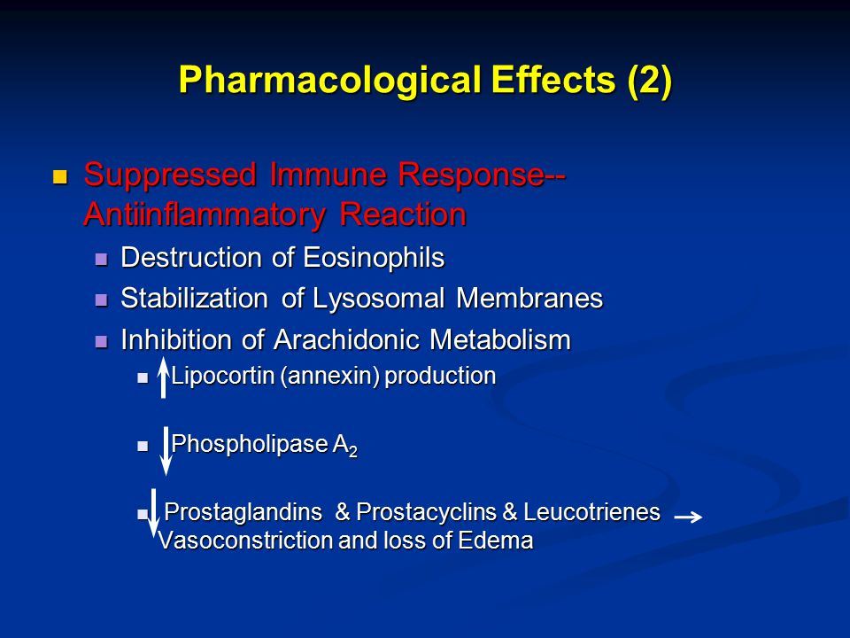 Pharmacological Effects (2)