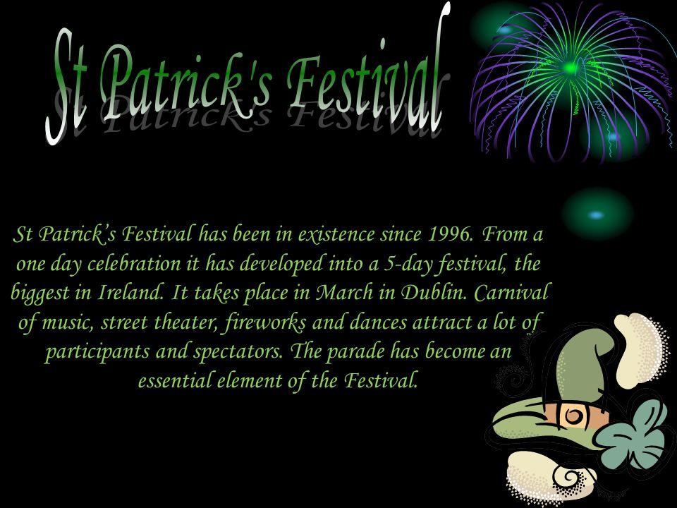 St Patrick s Festival