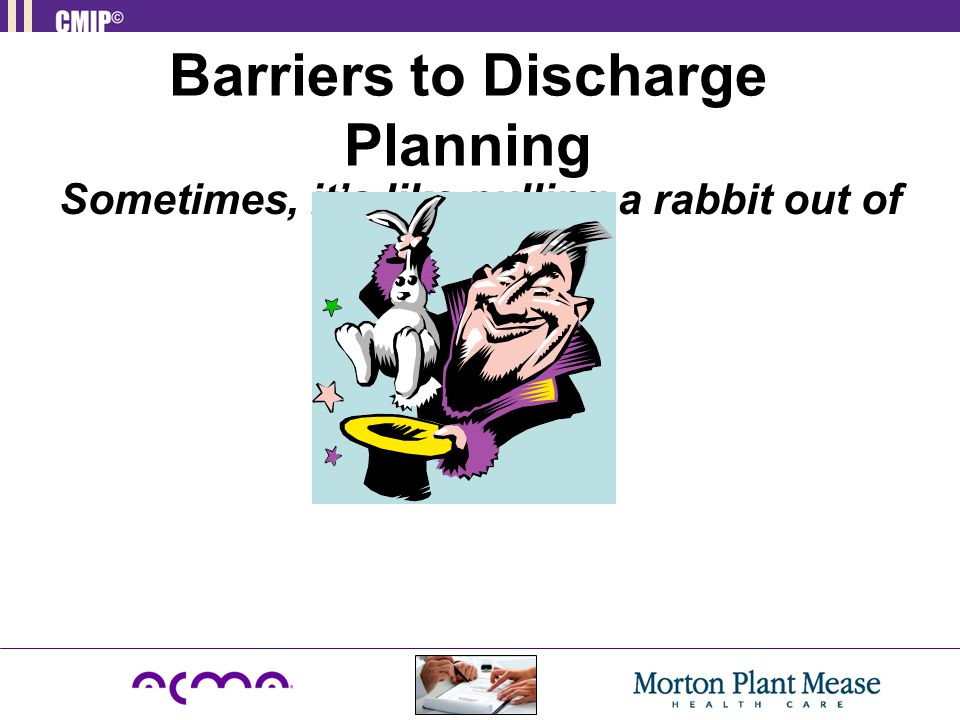 Barriers to Discharge Planning