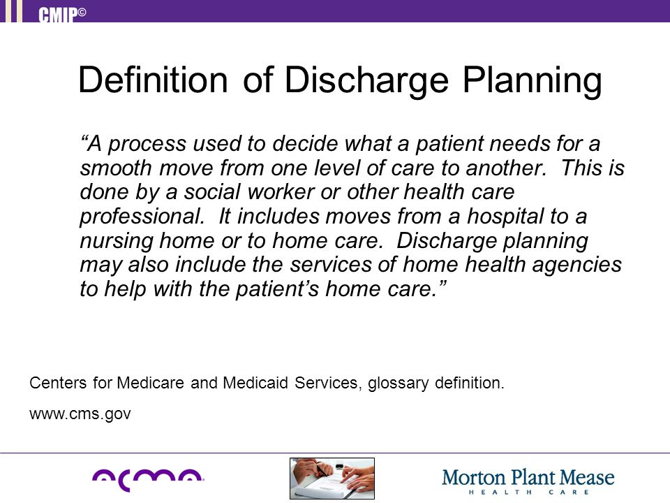 Definition of Discharge Planning