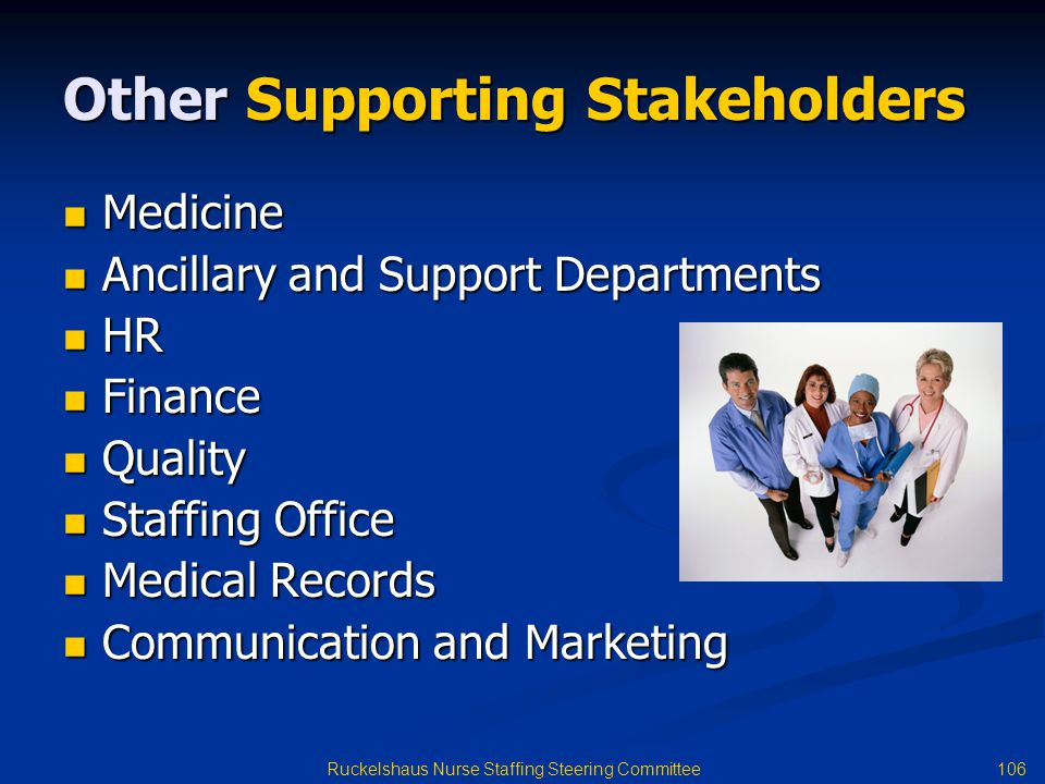 Other Supporting Stakeholders