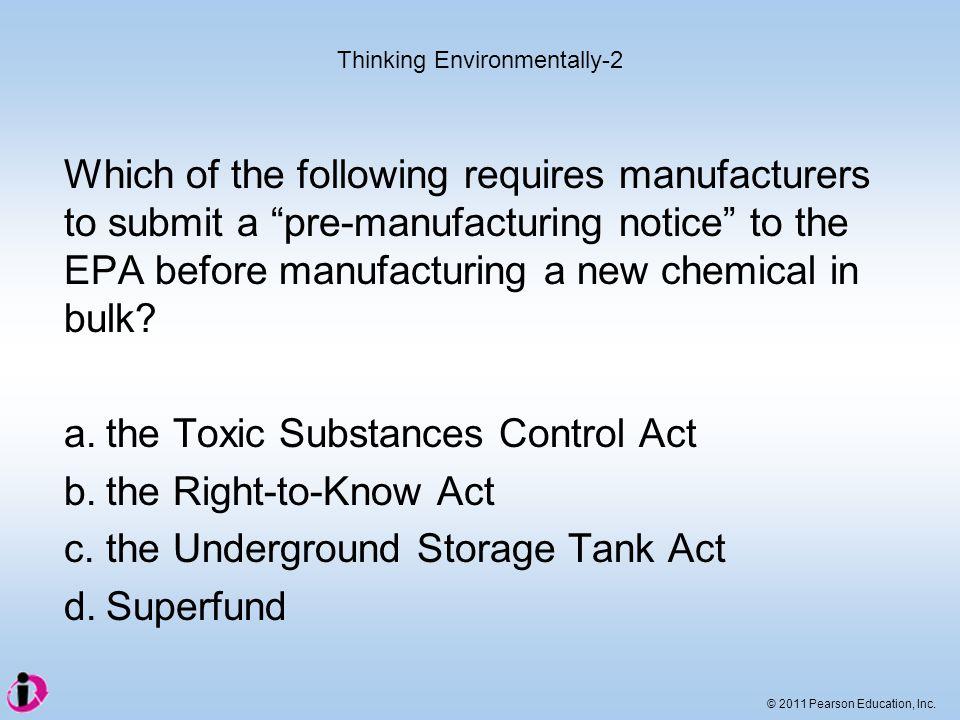 Thinking Environmentally-2