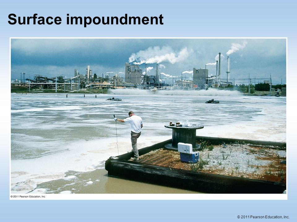 Surface impoundment