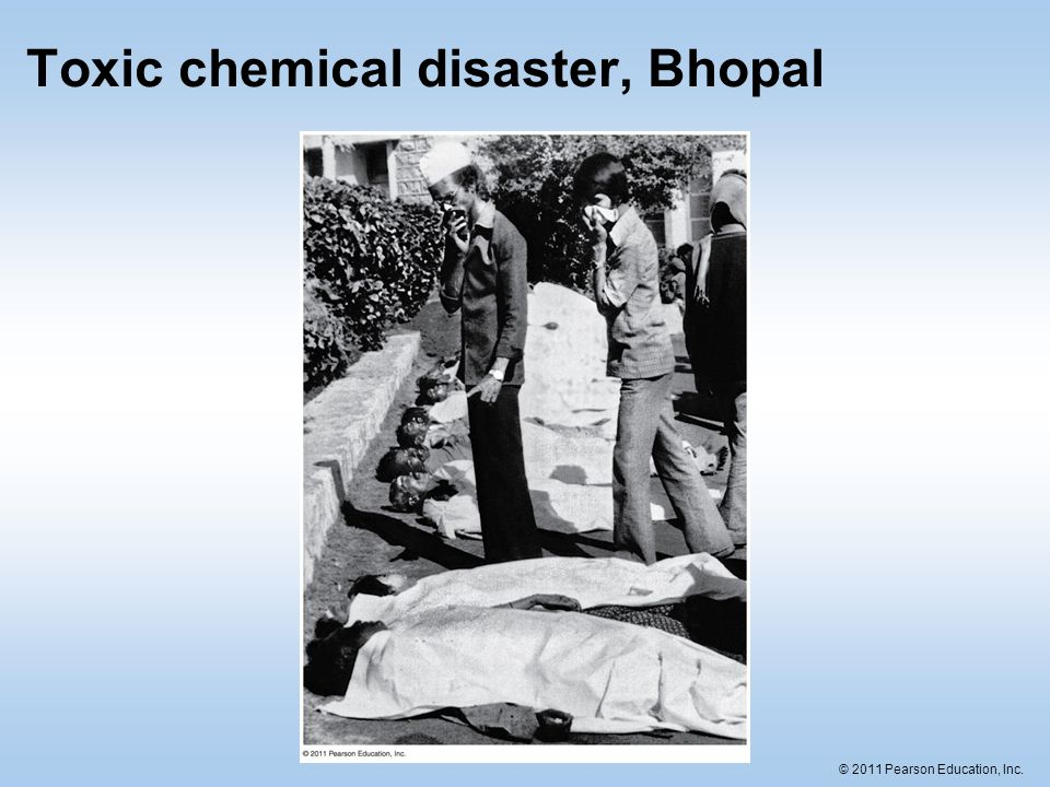 Toxic chemical disaster, Bhopal
