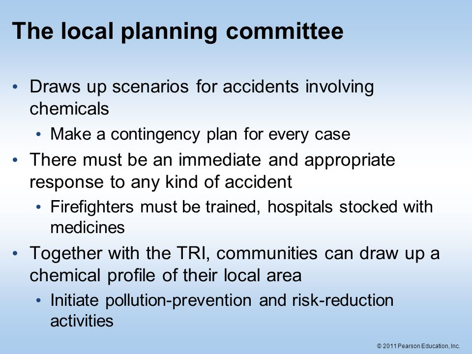 The local planning committee