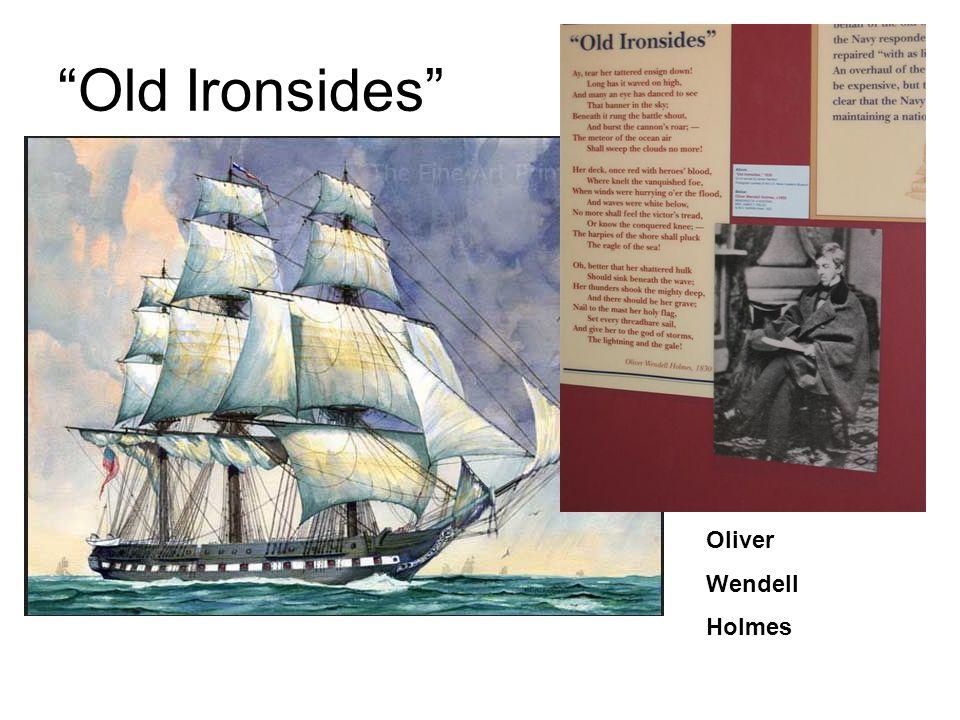 Old Ironsides Oliver Wendell Holmes