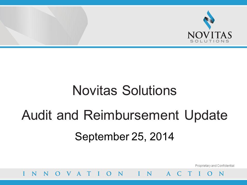 Audit and Reimbursement Update