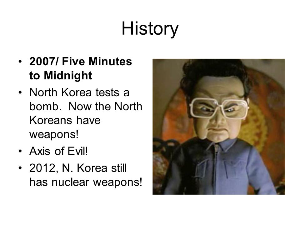 History 2007/ Five Minutes to Midnight