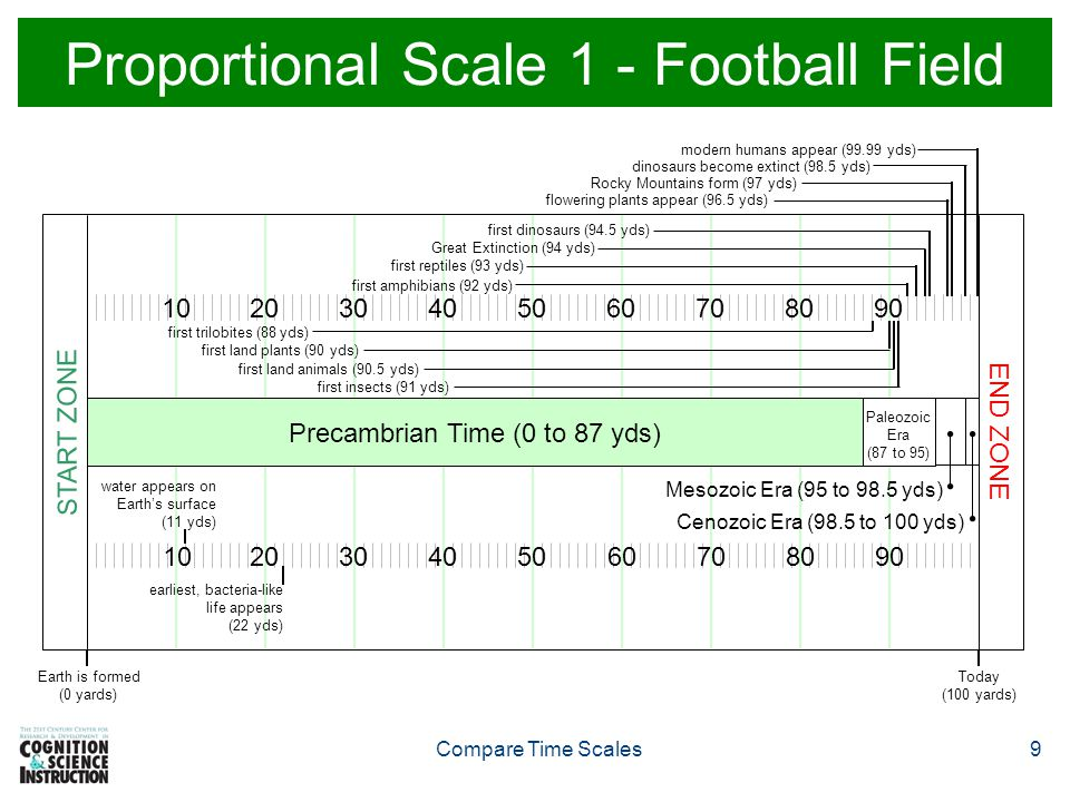 Proportional Scale 1 - Football Field
