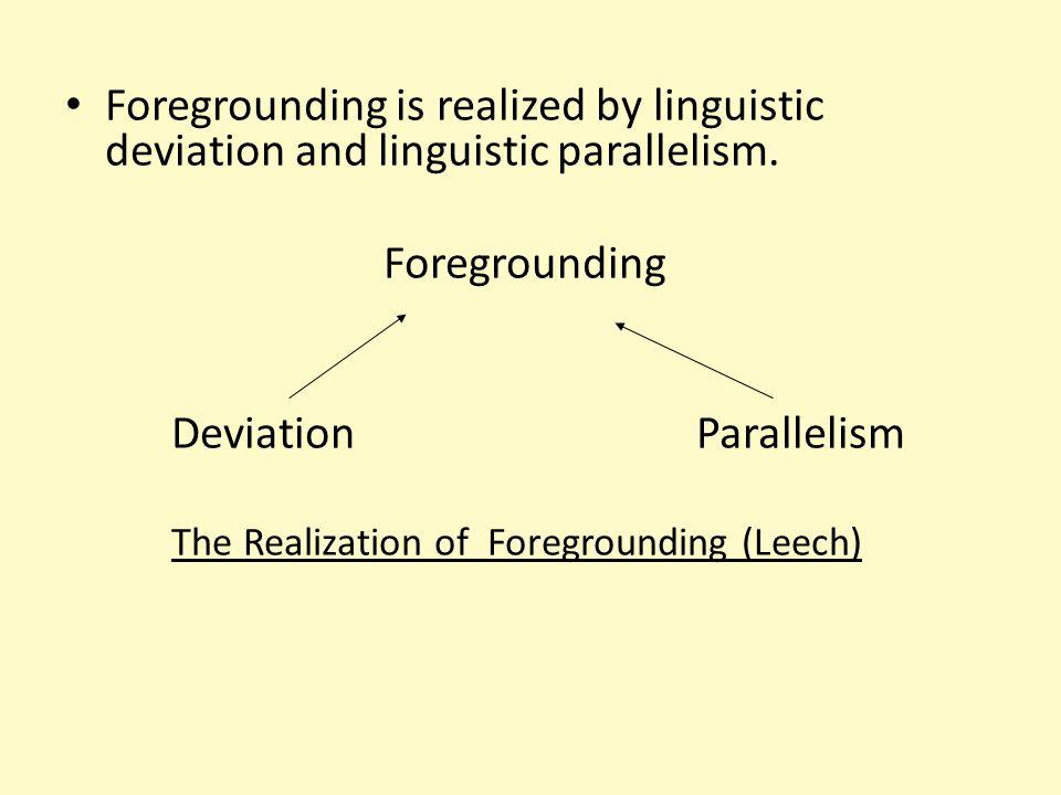 Deviation Parallelism