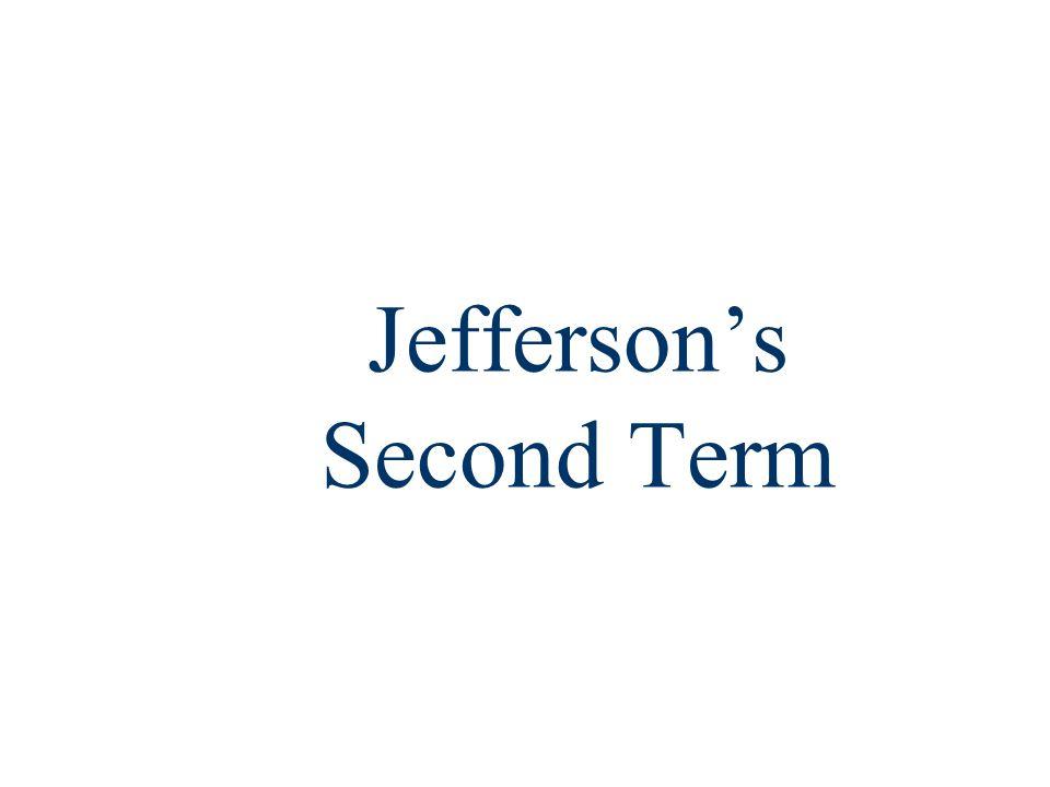 Jefferson's Second Term