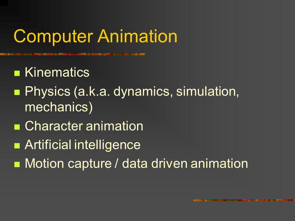 Computer Animation Kinematics