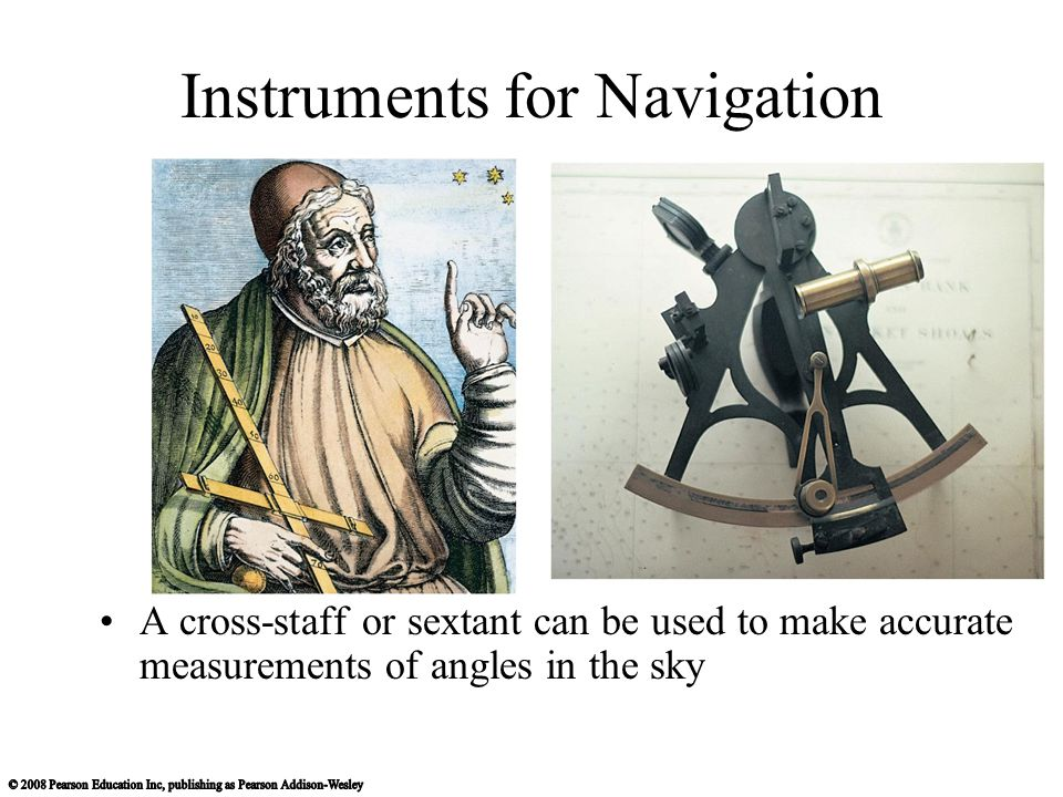 Instruments for Navigation