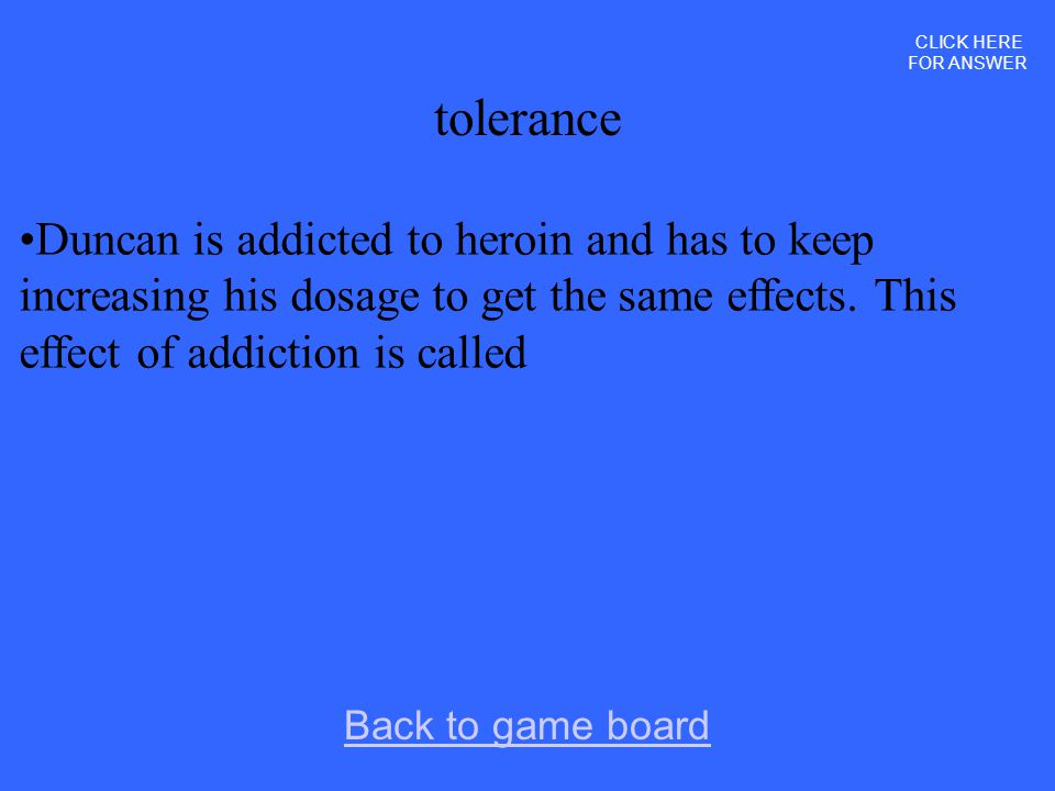 CLICK HERE FOR ANSWER tolerance.