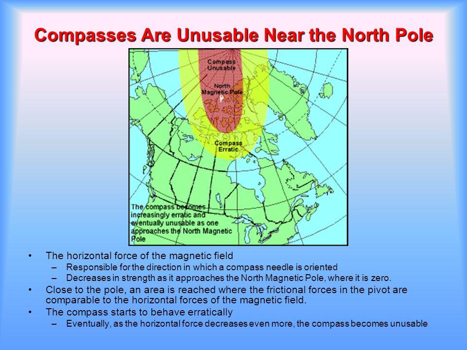 Compasses Are Unusable Near the North Pole