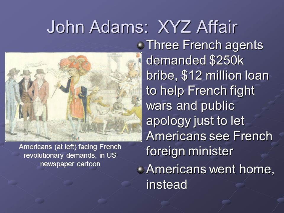 John Adams: XYZ Affair