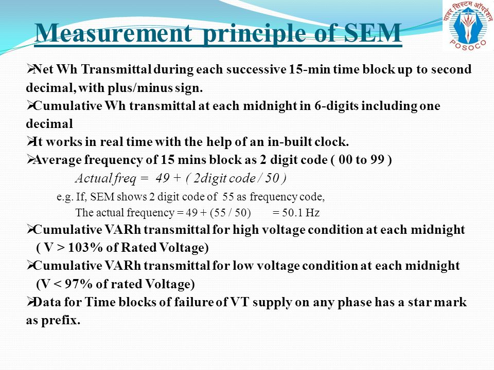 Measurement principle of SEM