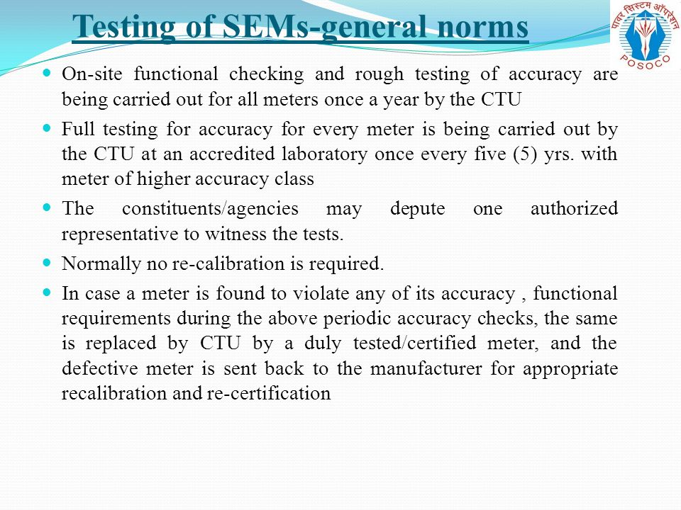 Testing of SEMs-general norms
