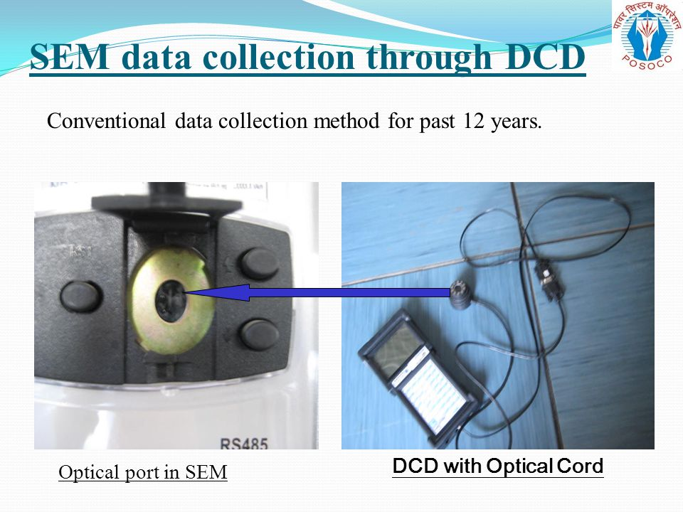 SEM data collection through DCD