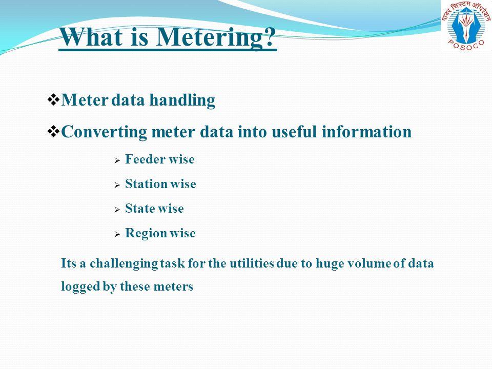 What is Metering Meter data handling